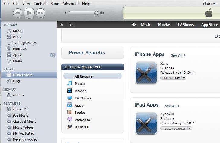 A first look at Xync (now renamed Xavy) Lync client on iOS
