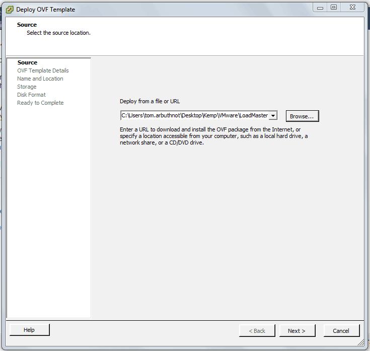 Deploying a Kemp Virtual Load Balancer in VMware ESXi - Tom