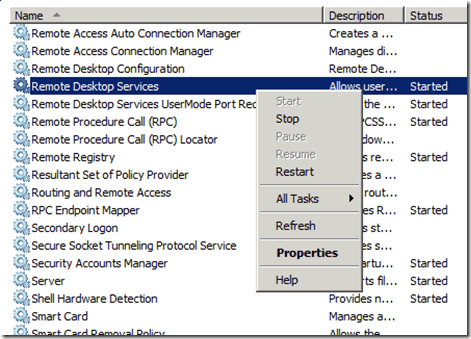 How to Disable Remote Desktop (RDP) from listening on an