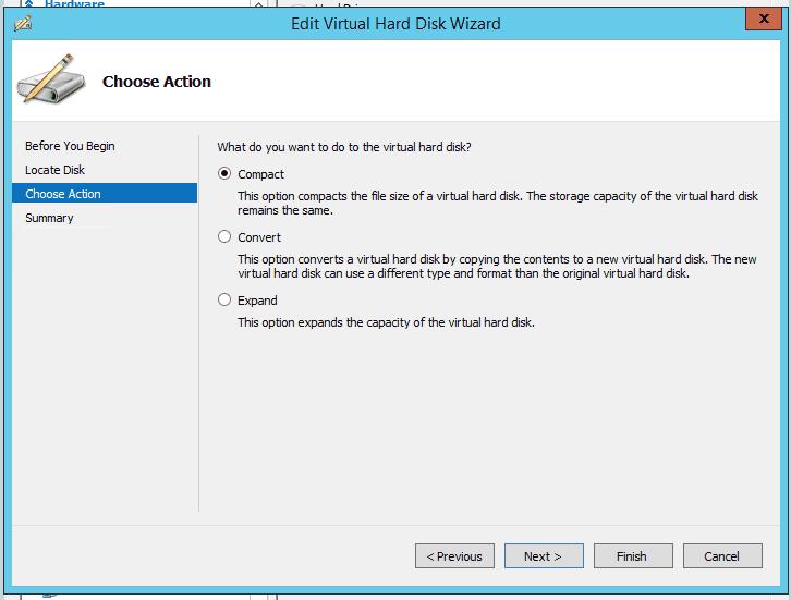 Compacting a Windows 7 VHDX - Tom Talks