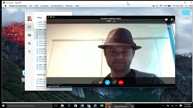 Skype for Business Mac Client Details, FAQ and Download