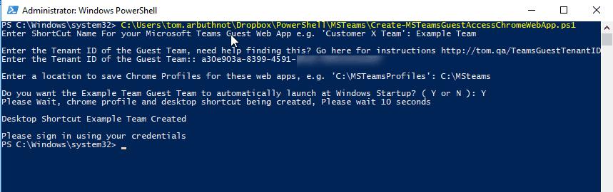 Microsoft Teams Guest Access Chrome Web Apps - Tom Talks