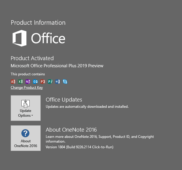 Office 2019 Commercial C2R Preview is Here, with Skype for Business