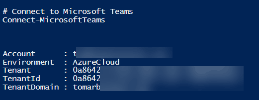 Microsoft Teams PowerShell: Getting All Teams, Changing Team