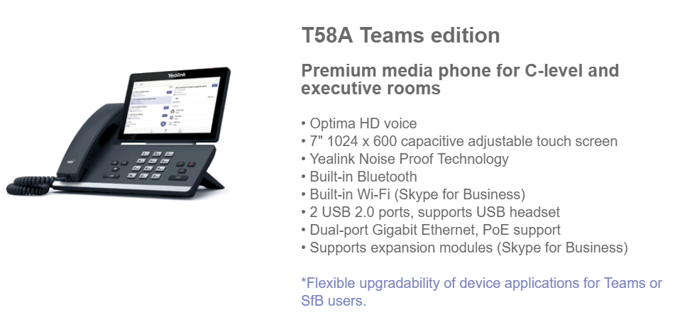 First Microsoft Teams Phones are Generally Available from