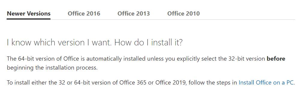 Microsoft Office finally moving 64-bit by default - Tom Talks