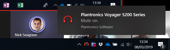 Disable Mute Unmute noises and Toasts in Plantronics Hub
